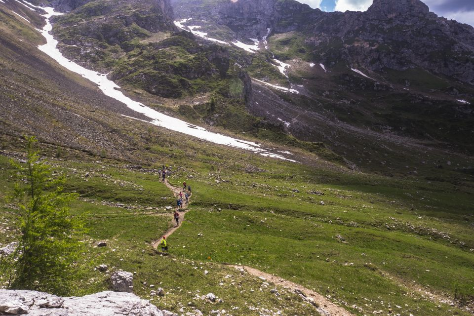 The north face Lavaredo ultra trail Cortina