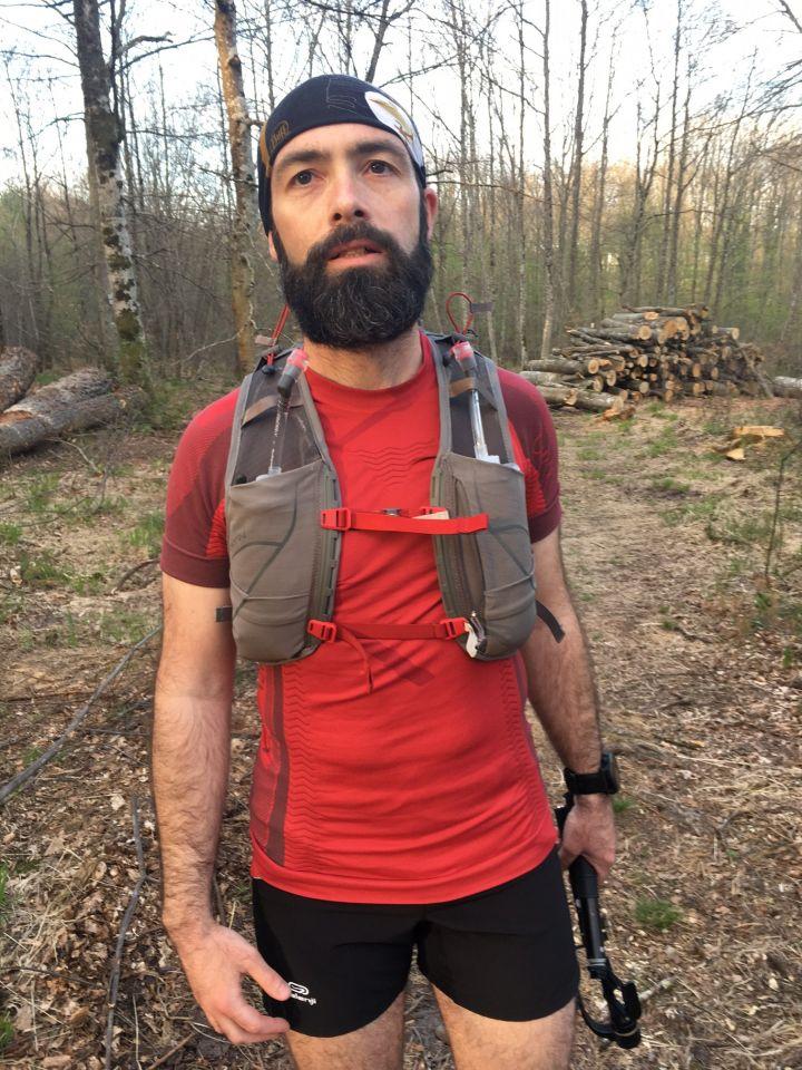 sac de trail gilet osprey duro