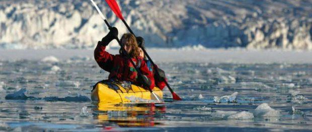 Kayak - Spitzberg - Pierre Fijalkowski