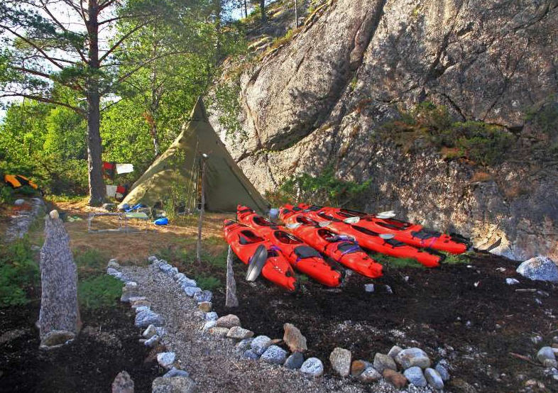 kayak - baie d'efjord - pierre fijalkowski