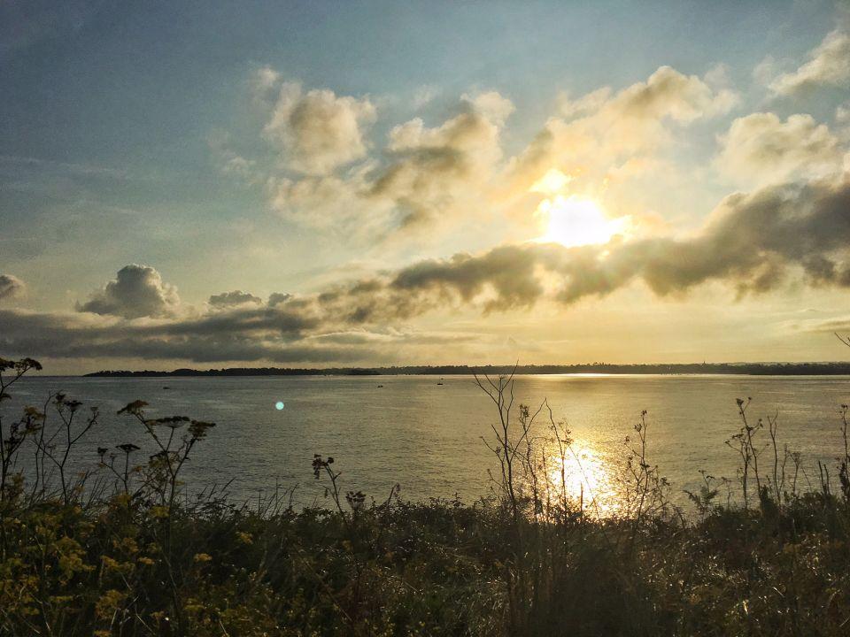 lever de soleil saint-jacut bretagne