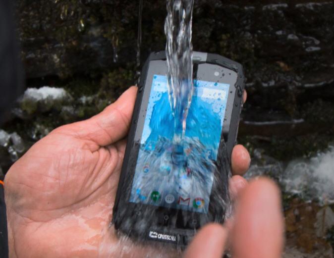 smartphone etanche crosscall trekker M1