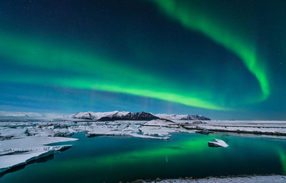Islande Aurores boréale
