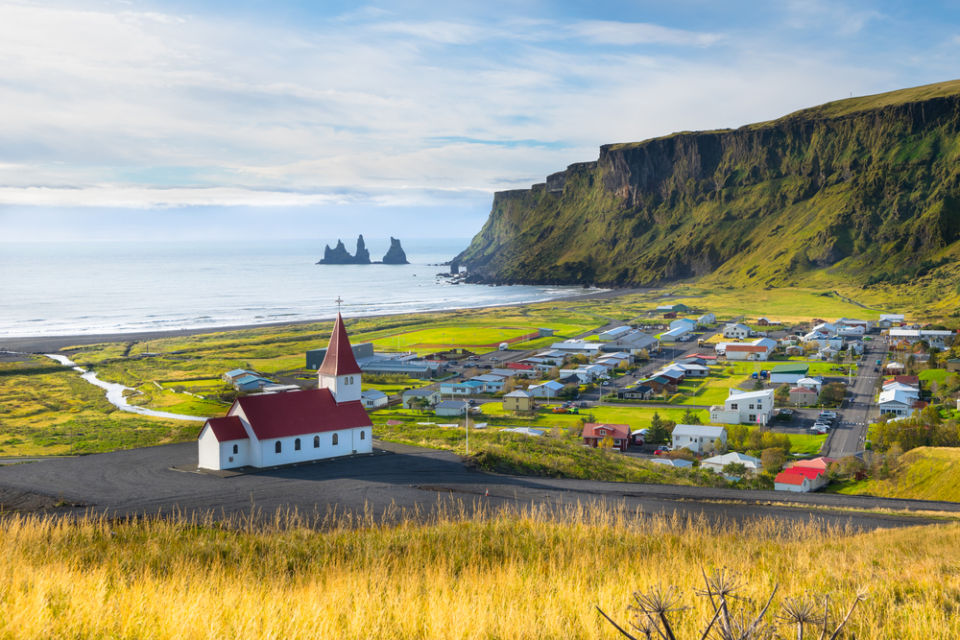 Islande Vik village