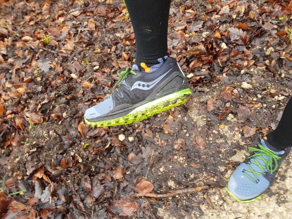 chaussures de trail xodus saucony