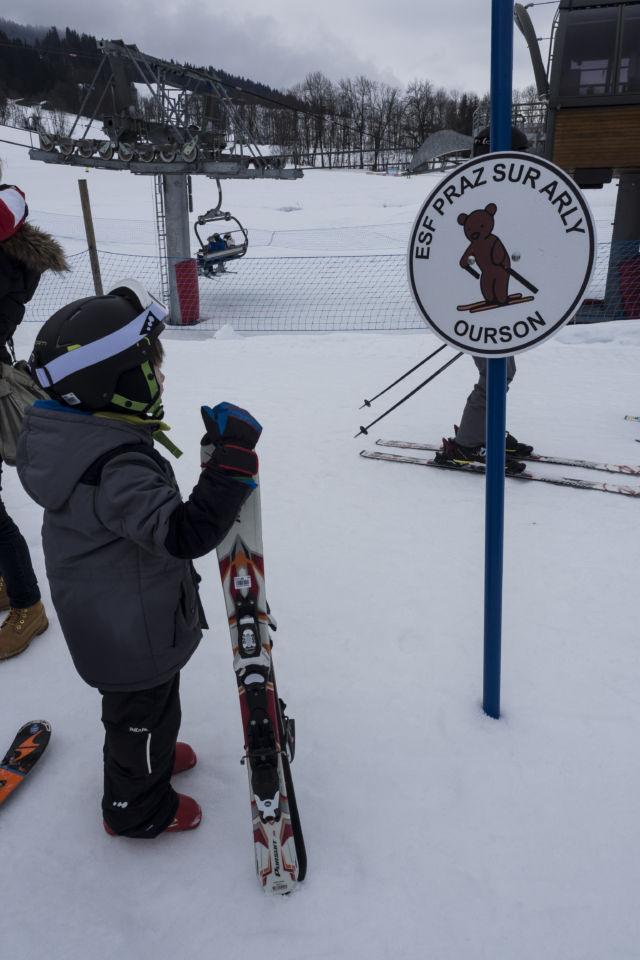 location de ski enfants