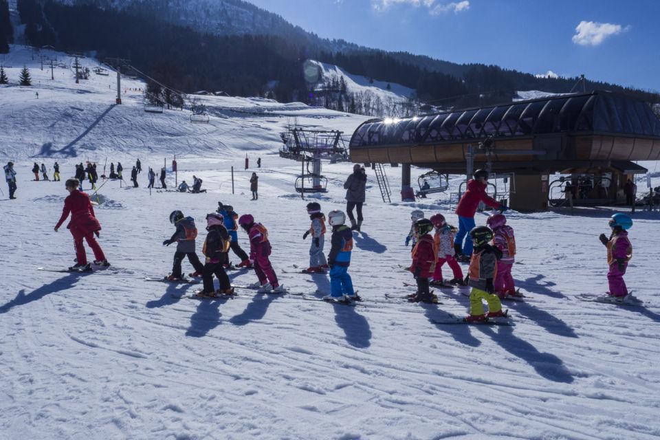 Cours de ski à l'ESF de Praz sur Arly