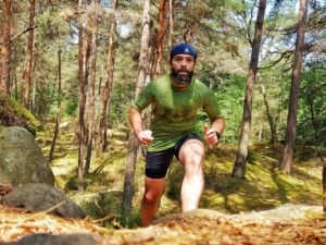 T-shirt Odlo Blackcomb running