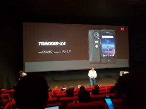 Trekker X4 Crosscall smartphone outdoor