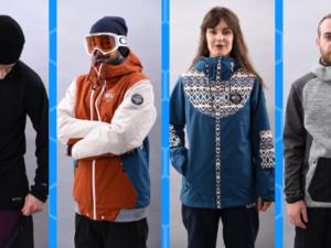 vêtements et materiel de ski