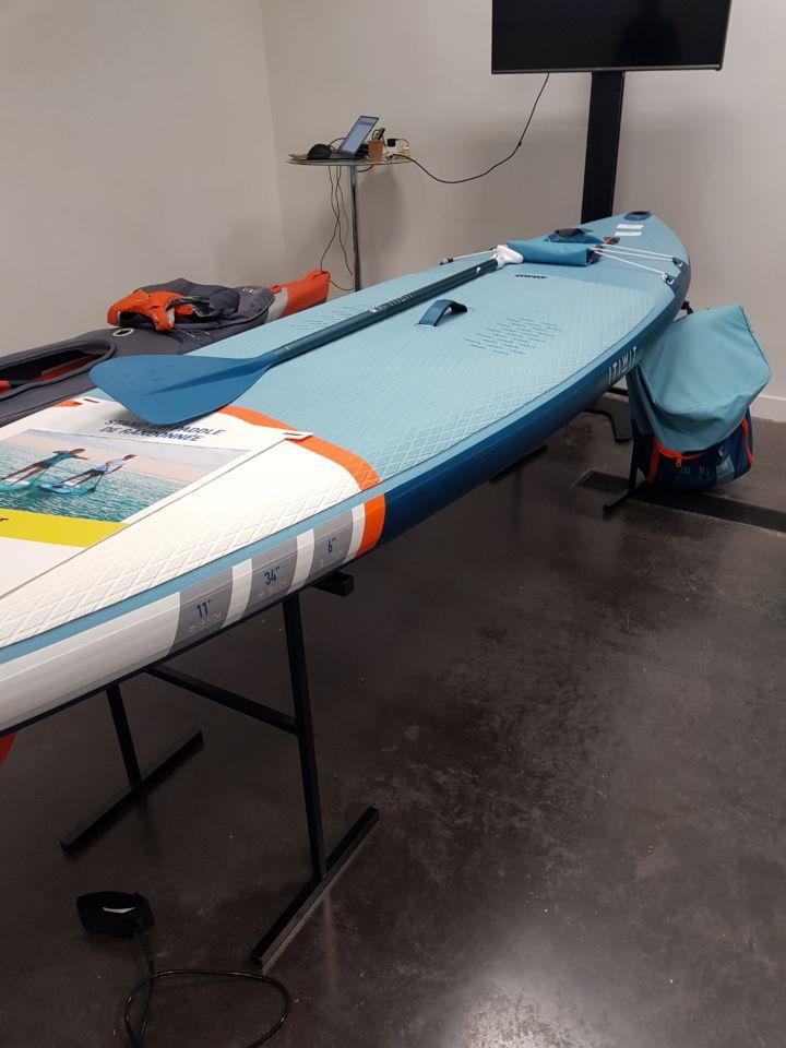 canoe gonflable decathlon